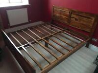 Mango Wood / Jali / Sheesham Solid Wood Super King Bed Frame.