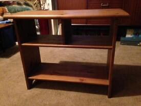 Solid pine TV unit/stand