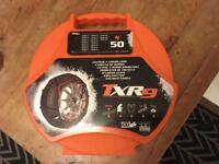 Snow chains for fiat punto (2000) or similar trx9 no 50