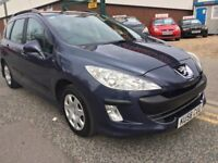 "PEUGEOT 308 SW ESTATE 1.6 HDI""""58/09 PLATE""""5 SPEED MANUAL!!! F/S/H"