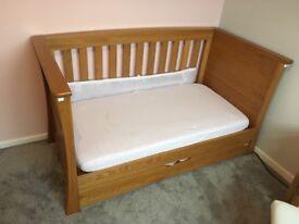 Mamas and papas ocean bay cot bed