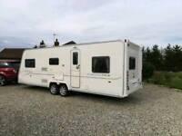 Baily senator caralinor twin axle 4/5/6/7 berth touring caravan 2008