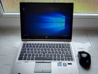 HP Elitebook, Core i5, 6GB RAM, 250GB SSD HDD, WIN 10