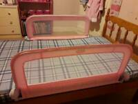 Summer infant double/single bed rail pink