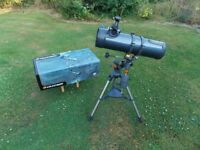 Telescope - Celestron Astromaster 130 EQ.