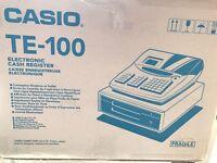 Casio TE-100 Eletronic cash register