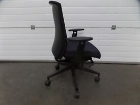 Blue S21 Enigma Operators Chair with Arms