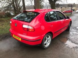 """IMMACULATE """" ONLY 65K FSH """" SEAT LEON 1.8 SE 5 DOOR (125BHP) GREAT DRIVER"""