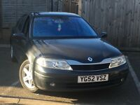 Renault Laguna 52 plate saloon grey manual 80.000 miles good con in and out