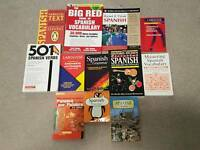 Spanish language books for sale