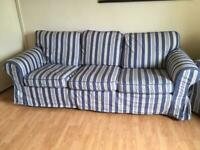 3-seater sofa and two chairs Ikea
