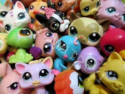 Littlest Pet Shop Lps Lot 20 Random McDonalds Pets Dog Cat Custom BUY3 GET 1FREE