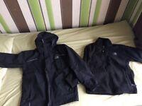 Karrimor waterproof jacket with fleece