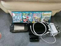 Nintendo Wii u with 4 games