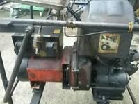 Generator lister diesel 5kva 7.1 hp.
