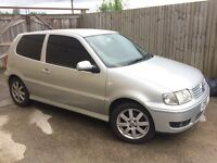 VW POLO 2001, 1.4 16v, 3 Door, Petrol, Spares or Repairs,