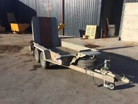 Ifor Williams digger trailer