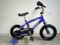 """(2193) 12"""" CONCEPT Boys Girls Kids Childs Bike Bicycle + STABILISERS Age: 2-4 Height: 80-100 cm"""
