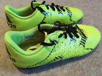 Adidas football boots size 3 hardly worn