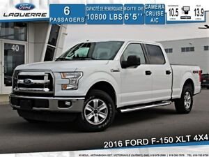 2016 Ford F-150 XLT**4X4*6 PLACES*CAMERA*BLEUTOOTH*CRUISE*A/C**