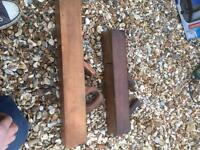 2 x wood planers - old style
