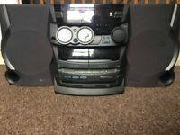 Kenwood Mini-Hifi Component System XD-402 RADIO/CD/TAPE/AUX