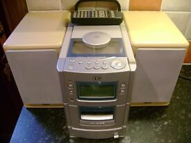 CD PLAYER, BED TABLE, DISPLAY STAND, DVD PLAYER,ROMAN BLINDS