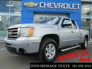 2012 GMC SIERRA 1500 4WD EXTENDED CAB 5.3L 4x4 SLE