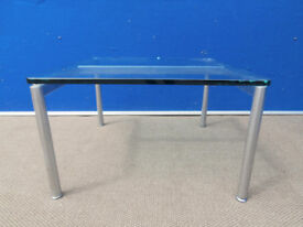 Glass Coffee Table Modern (Delivery)