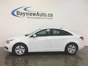 2015 Chevrolet CRUZE LT- TURBO! REM START! REV CAM! CRUISE!