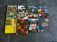 Various blu ray and dvds