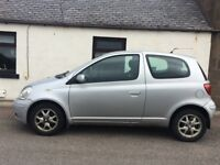 TOYOTA YARIS PARTS FOR SALE. JUST FAILED ITS MOT DUE TO CORRODED CHASSIS.
