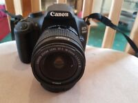 Canon 1200D Dslr camera 18-55 lens + 75-300mm Lens. + Bag