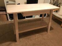Ikea kitchen workbench