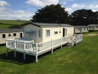 Static Holiday Caravan in Cornwall 1st SEPTEMBER Newquay View Resort Indoor Pool Walk to beach Surf