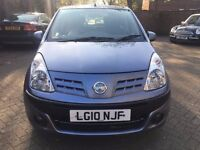 NISSAN PIXO 1.0, FULLY AUTOMATIC 2010,VERY LOW MILEAGE, FULL SERVICE HISTORY, LADY OWNER, LADY OWNER