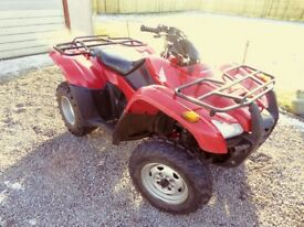 For Sale - Honda Fourtrax 420ES 4x4 Road Registered ATV Quad Bike