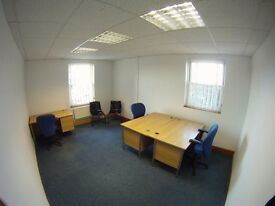 Private Offices and Hot Desks available - secure/modern/all inclusive cost
