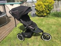 Phil & Ted Navigator double pushchair