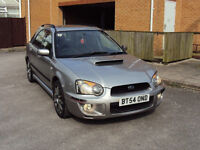 SUBARU IMPREZA WRX TURBO 2.0T SPORTWAGON BHP224 4WD 2005 LEATHER SEATS EXTRAS F.S.H 2KEYS FOR 3425