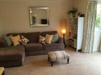 Neutral Corner Sofa.