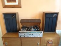 Vintage 1970's Winthrop President Music System