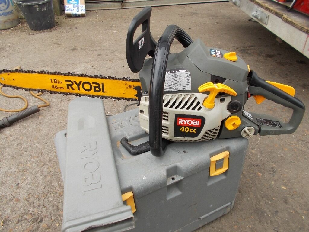 Ryobi 40cc 18 inch chainsaw very good condition in southampton ryobi 40cc 18 inch chainsaw very good condition greentooth Images