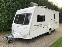Bailey Senator Vermont Series 6 2 berth 2008 with End Washroom