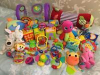 Bundle of Toys 0-12 months old