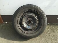 5-112 Spare Wheel - Will fit audi,seat,volkswagen,skoda