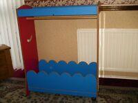 Children's Play Dressup Nursery/ Bedroom Storage Unit