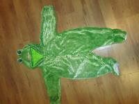 costume d'Halloween grenouille
