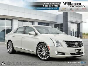 2014 Cadillac XTS TWIN TURBO VSPORT**NAV**LTHR**SUNROOF**AWD