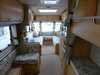 Sterling Europa 600 Elite Twin Axle 6 Berth Twin Axle with 4WD Motor Mover